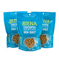 Biena Chickpea Snacks, Sea Salt, 5 Oz, Pack Of 3