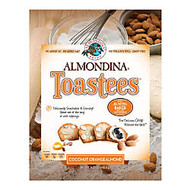 Almondina Toastees, Coconut Orange Almond, 5.25 Oz, Pack Of 12 Bags