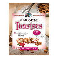 Almondina Toastees, Cranberry Almond, 5.25 Oz, Pack Of 12 Bags