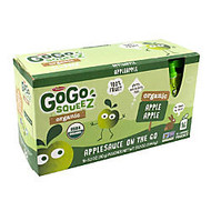 Materne GoGo Squeez Organic Applesauce Pouches, 3.2 Oz, Box Of 16