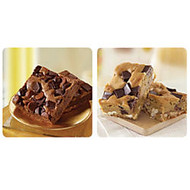 Sweet Street Dessert Blondie And Brownie Variety, 16 Servings