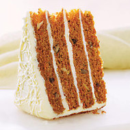 Sweet Street Desserts 10 inch; 4 High Carrot Cake, 14 Slices