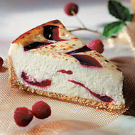 Sweet Street Desserts 10 inch; Raspberry White Chocolate Cheese Brulee, 14 Servings