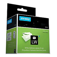 Dymo Address Labels - 1.12 inch; Width x 3.50 inch; Length - 700 / Roll - Direct Thermal - White - 700 / Each