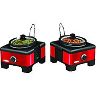 Bella 2 X 2.5QT Linkable Slow Cooker System