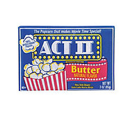 ACT II Microwave Popcorn, Butter Flavor, 3 Oz, Pack Of 36