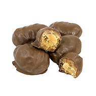 Albanese Confectionery Milk Chocolate- And Peanut Butter-Covered Peanuts, 5-Lb Bag