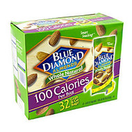 Blue Diamond Almonds Grab & Go Bags, 0.625 Oz, Box Of 32