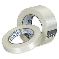 3M; 897 Strapping Tape, 1 inch; x 60 Yd., Clear, Case Of 36