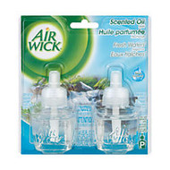 Air Wick; Scented Oil Warmer Refills, Fresh Waters, 1.34 Oz, Pack Of 2