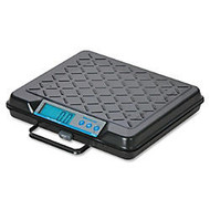 Brecknell Electromechanical Digital Bench Scale - 250 lb / 110 kg Maximum Weight Capacity - Ribbed, Steel - Black