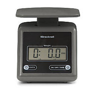 Brecknell PS7 Electronic Postal Scale, Gray