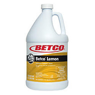Betco Disinfectant Concentrate, Lemon Scent, 1-Gallon, Pack Of 4