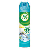 Air Wick; 4-In-1 Air Freshener Spray Cans, Fresh Waters, 8 Oz, Case Of 12