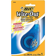 BIC; Wite-Out; Correction Tape, Single Line, 471 3/5 inch;