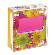 Post-it; Fresh Flower Pop-up Notes And Dispenser, 3 inch; x 3 inch;