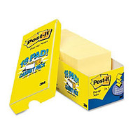 Post-it Pop-up Notes Cabinet Pack, 3 in x 3 in, Canary Yellow - 1620 - 3 inch; x 3 inch; - Square - 90 Sheets per Pad - Unruled - Canary Yellow - Paper - Self-adhesive, Removable - 18 Pad