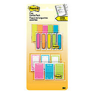 Post-it;  inch;Sign Here inch; On The Go Multipack Flags, Assorted Colors, 20 Flags Per Pad, Pack Of 16 Pads