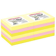 Office Wagon; Brand Pop-Up Notes, 3 inch; x 3 inch;, Assorted Bright Colors, 100 Sheets Per Pad, Pack Of 12
