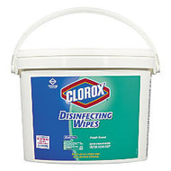 Clorox; Disinfecting Wipes, 7 inch; x 7 inch;, Fresh Scent, Pack Of 700