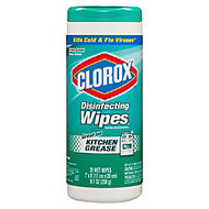 Clorox; Disinfecting Wipes, Fresh Scent, 35 Wipes Per Tub, Box Of 12 Tubs