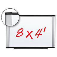 3M™ Melamine Dry-Erase Board With Widescreen-Style Aluminum Frame, 48 inch; x 96 inch;