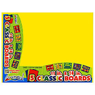 ArtSkills; 60% Recycled Classic Color Boards, 11 inch; x 14 inch;, Assorted Colors, Pack Of 5