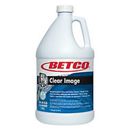 Betco Clear Image RTU Glass Cleaner, 1 Gallon, Pack Of 4