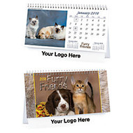 Cats & Dogs Desk Calendar