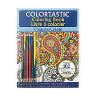 Colortastic Adult Coloring Book, 10 7/8 inch; x 8 3/8 inch;