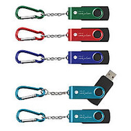 Carabiner USB Flashdrive, 8GB