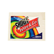 Shout; Wipe & Go Instant Stain Treatment Wipes, Box Of 80