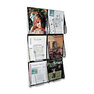Deflect-O; Pre-Assembled Wall Unit System, 6 Magazine Capacity, 2' x 3'