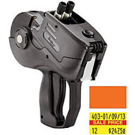 Monarch 1155 Two-Line Pricemarker - 2 Line(s) - 12 Characters per Line - Charcoal Gray