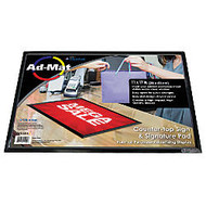 Artistic AdMat Counter Mat, 11 inch; x 17 inch;, Black
