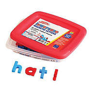 AlphaMagnets;, Lowercase Letters, Red And Blue, Pack Of 42