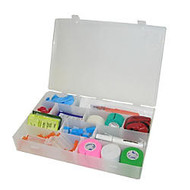 Unimed Solvent-Resistant Infinite Divider Storage Box, 4-20 Compartments, 2 3/16 inch;H x 13 1/2 inch;W x 9 1/2 inch;D