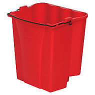 Rubbermaid; Dirty Water Bucket, 4.5 Gallons, Red
