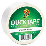 Duck Colored Duct Tape - 1.88 inch; Width x 60 ft Length - 1 / Roll - White