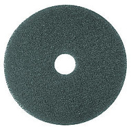 3M 12 inch; Cleaner Pads, Blue, Box Of 5