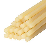3M™ Hot-Melt Jet-Melt™ Glue Sticks, 5/8 inch; x 8 inch;, Medium Tan, Case Of 165