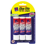 Avery; Disappearing Color Glue Stics For Envelopes, 0.26 Oz, Purple, Pack Of 3