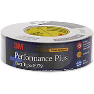 3M 8979SB60 Performance Plus Duct Tape - 2 inch; Width x 60 yd Length - 3 inch; Core - Rubber - 12.60 mil - Polyethylene Coated Cloth Backing - Removable, Abrasion Resistant, Water Resistant - 1 / Roll - Slate Blue