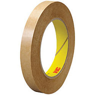 3M™ 463 Adhesive Transfer Tape, 3 inch; Core, 0.5 inch; x 60 Yd., Clear, Case Of 6