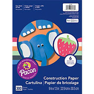 Art Street; Construction Paper, 9 inch; x 12 inch;, Assorted Colors, Pack Of 300