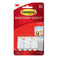 3M™ Command™ General Purpose Hooks, Micro, 0.5-Lb Capacity, Pack Of 3