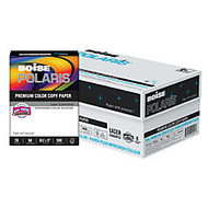 Boise Polaris; Color Copy Paper, Letter Paper Size, 98 Brightness, 28 Lb, White, 500 Sheets Per Ream, Case Of 6 Reams