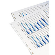 GBC; Prepunched Paper For Comb Binding, 19-Hole Punched On Left, 20 Lb, Ream Of 500 Sheets