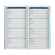 Adams; Password Journal, 6 1/4 inch; x 3 1/4 inch;, 48 Pages (24 Sheets)