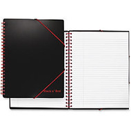 Black n' Red Black n' Red Notebook - Printed - Twin Wirebound - Ruled - High White Paper - 1Each